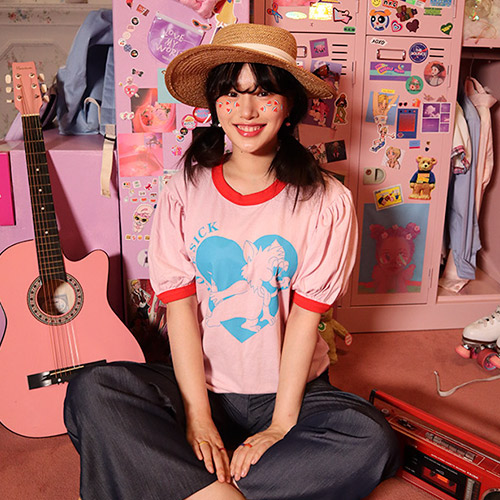 LOVE SICK TEE(white only!)