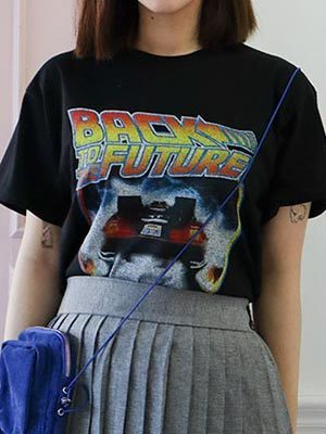 BACK TO THE FUTURE T (2 colors)