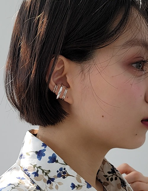 orbit line ear-cuff